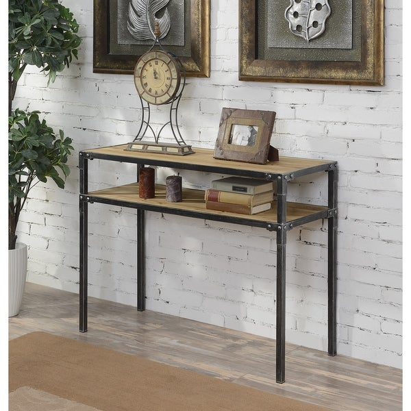 Convenience Concepts Laredo 2 Tier Console Table