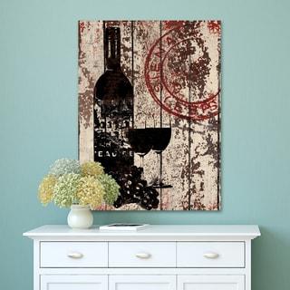 Portfolio Canvas Decor IHD 'SS - Grape Wine' Wrapped Canvas Wall Art