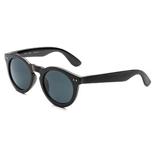 Pop Fashionwear P2120 Unisex Round Classic Vintage Fashion Sunglasses (Option: Clear - Blue)
