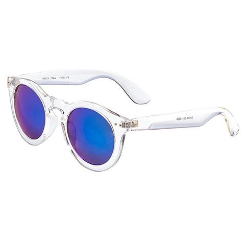 Pop Fashionwear P2120 Unisex Round Classic Vintage Fashion Sunglasses