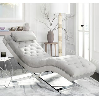 Safavieh Monroe Grey Chaise