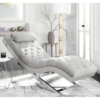 Safavieh Monroe Grey Chaise