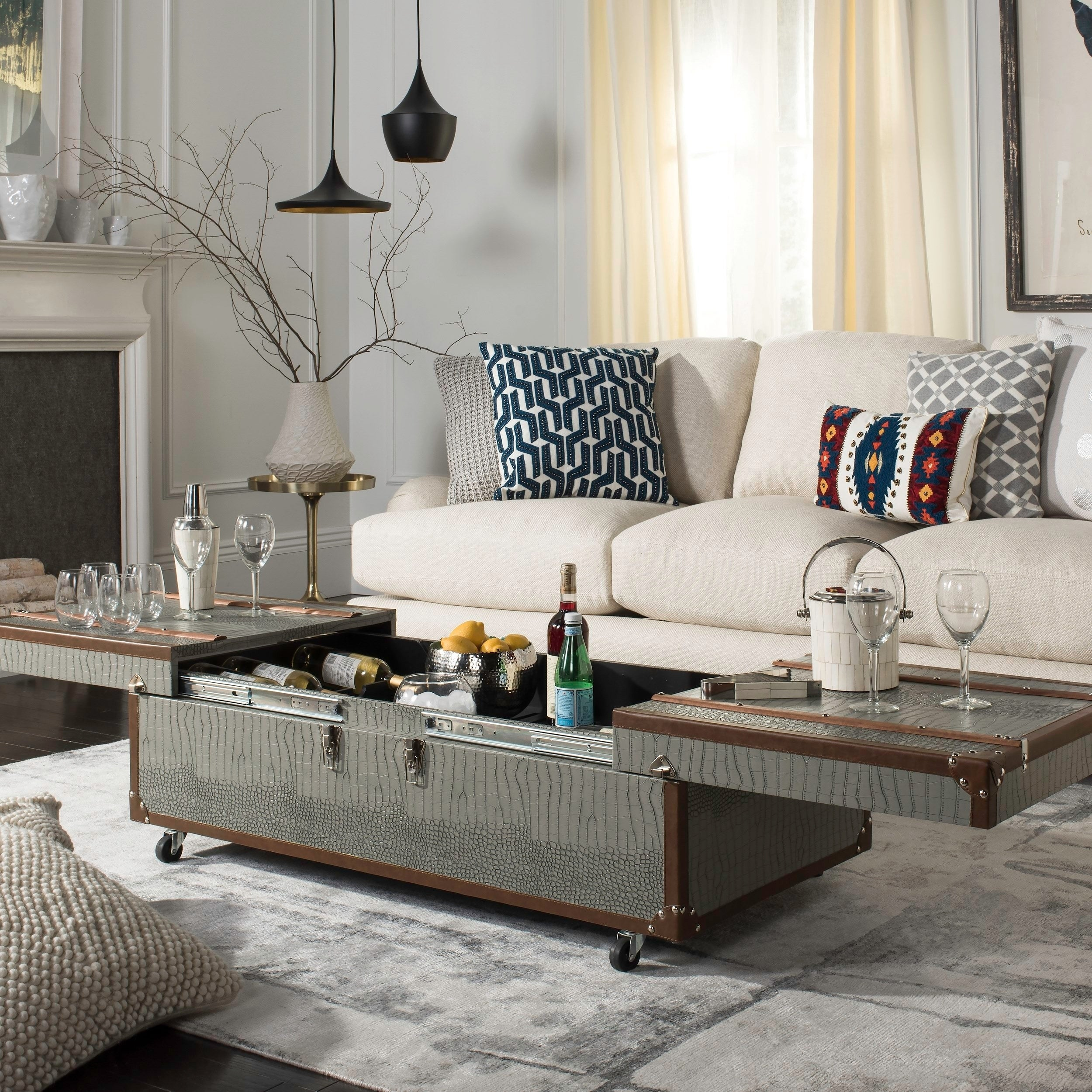 Buy Trunk Coffee, Console, Sofa U0026 End Tables Online At Overstock.com | Our  Best Living Room Furniture Deals