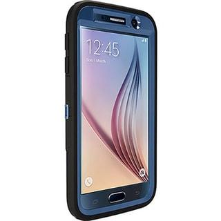 Otterbox 77-53492 Defender Case for Samsung Galaxy S6 - Royal Blue/Black (Refurbished)