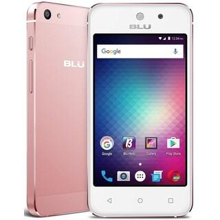BLU Vivo 5 Mini V050Q Unlocked GSM Quad-Core Dual-SIM Phone - Rose Gold