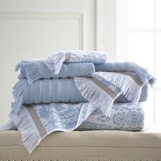 6-Piece Yarn Dyed Boho Towel Set