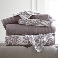 Amrapur Overseas 6-Piece Yarn Dyed Filigree Towel Set
