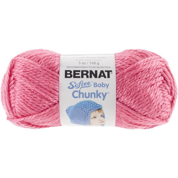 Softee Baby Chunky Yarn-Pattycake Pink