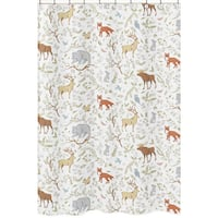Shower Curtain for the Woodland Toile Collection by Sweet Jojo Designs