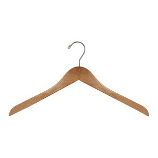 Wooden Hanger, Shirt Hanger (Case of 20)
