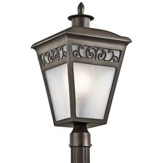 Kichler Lighting Park Row Collection 1-light Olde Bronze Outdoor Post Mount