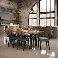 Carbon Loft Kettering 40 x 72-inch Distressed Solid Birch Top Dining Set
