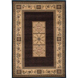 Ecarpetgallery Handmade Tekke Bokhara Black Rug (3'10 x 5'7)