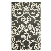 Laura Ashley Halstead Plush Knit Accent Rug - 8' x 11'