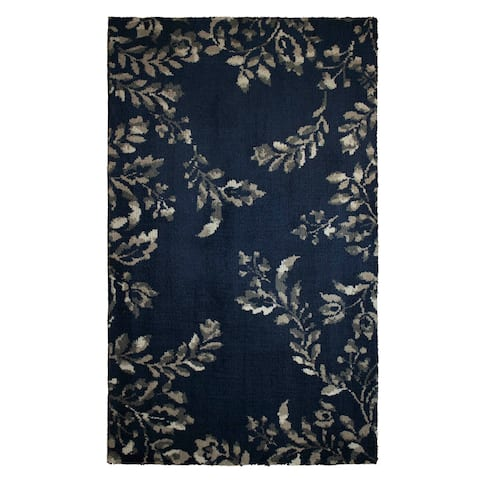 Laura Ashley Winchester Plush Knit Accent Rug - 5' x 8'
