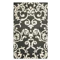 Laura Ashley Halstead Plush Knit Accent Rug - 5' x 8'