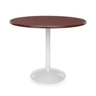 "Orbit Table 36"" Round - Mahogany Top"