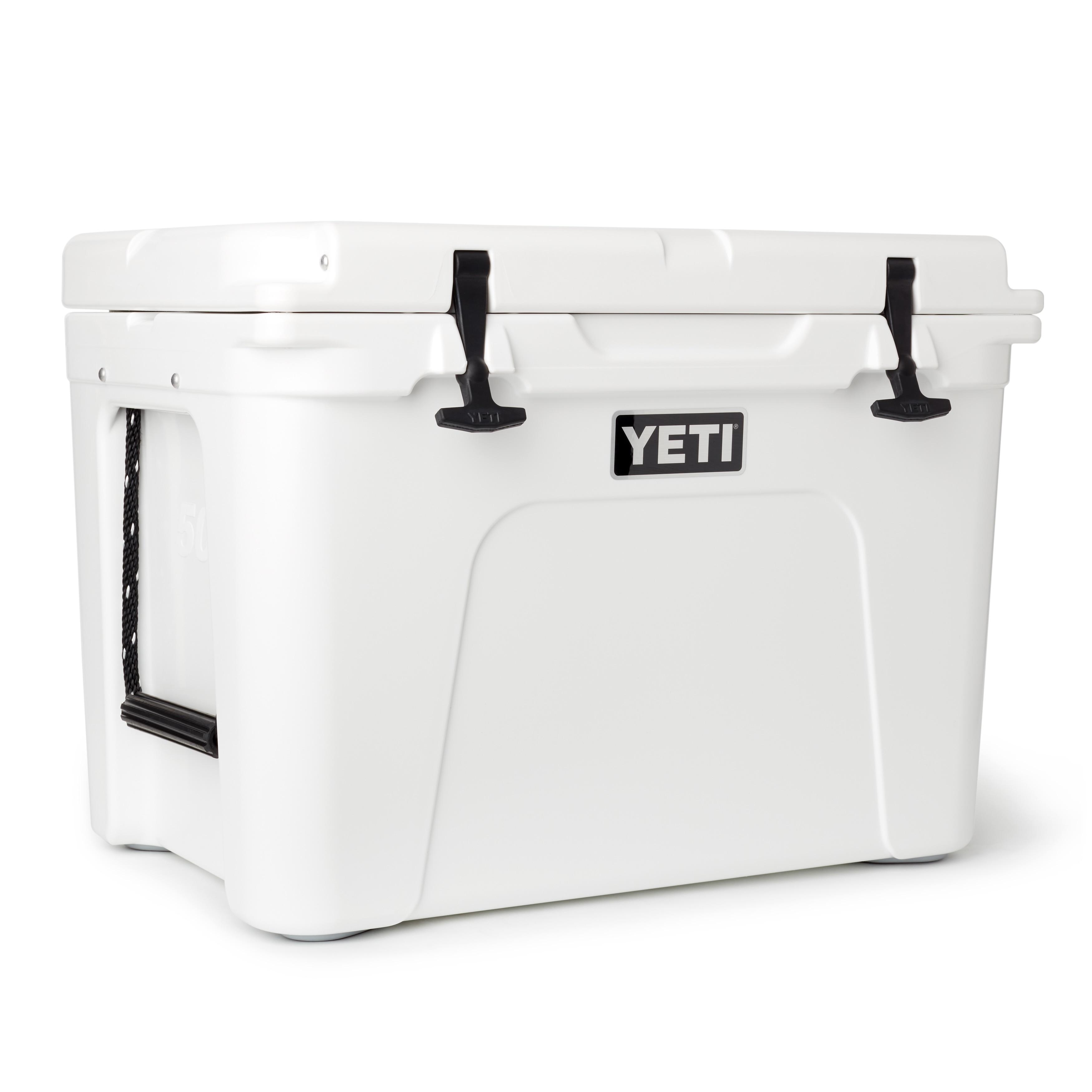 Yeti Tundra 50 Cooler, Model YT50 (White) (Polyurethane)