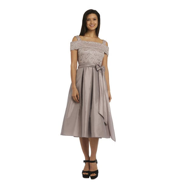 R&M Richards Lace Fully-Lined Dress