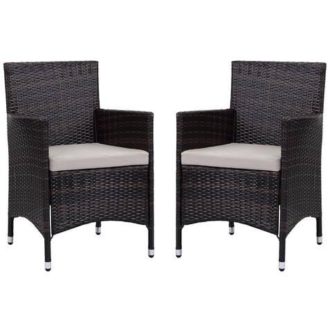 Safavieh Kendrick Brown/ Sand Chair