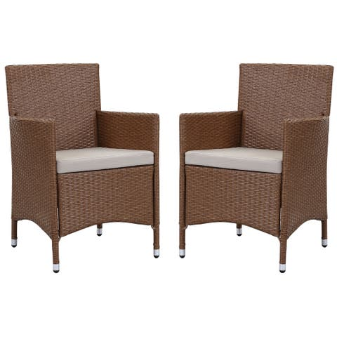 Safavieh Kendrick Toasted Almond/ Sand Chair