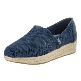 Bobs from Skechers Women's Highlights-Main Event Blue Casual Shoes