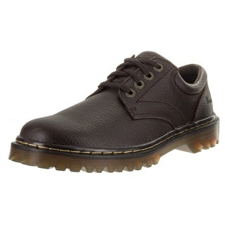 Dr. Martens Men's Ashfeld Brown Leather Casual Shoes