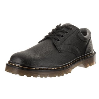 Dr. Martens Men's Ashfeld Black Leather Casual Shoes