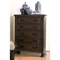 Furniture of America Brigette Traditional Shabby Rustic 5-drawer Chest