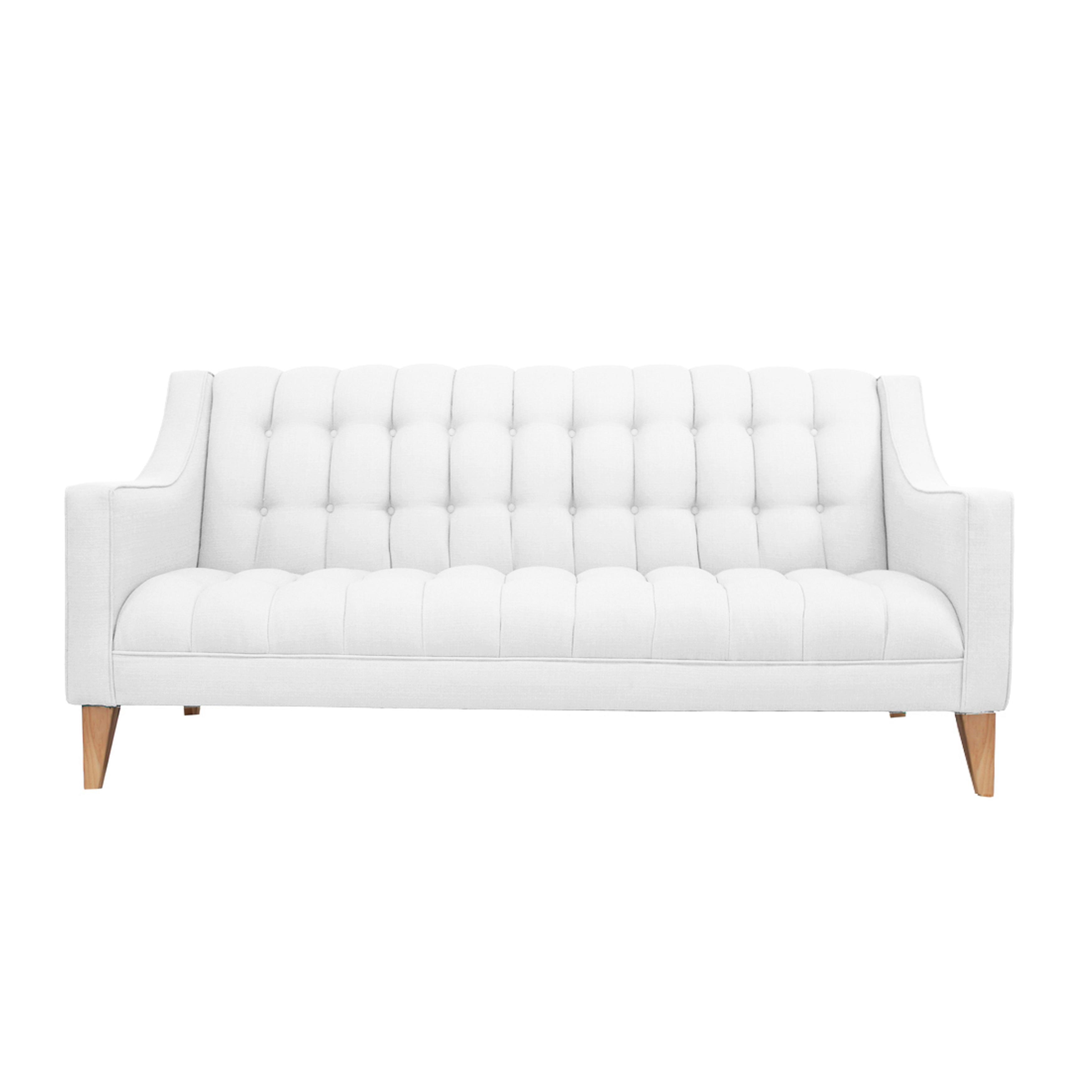 Sophia Modern Eco-Friendly Sofa (Yellow) (Fabric)