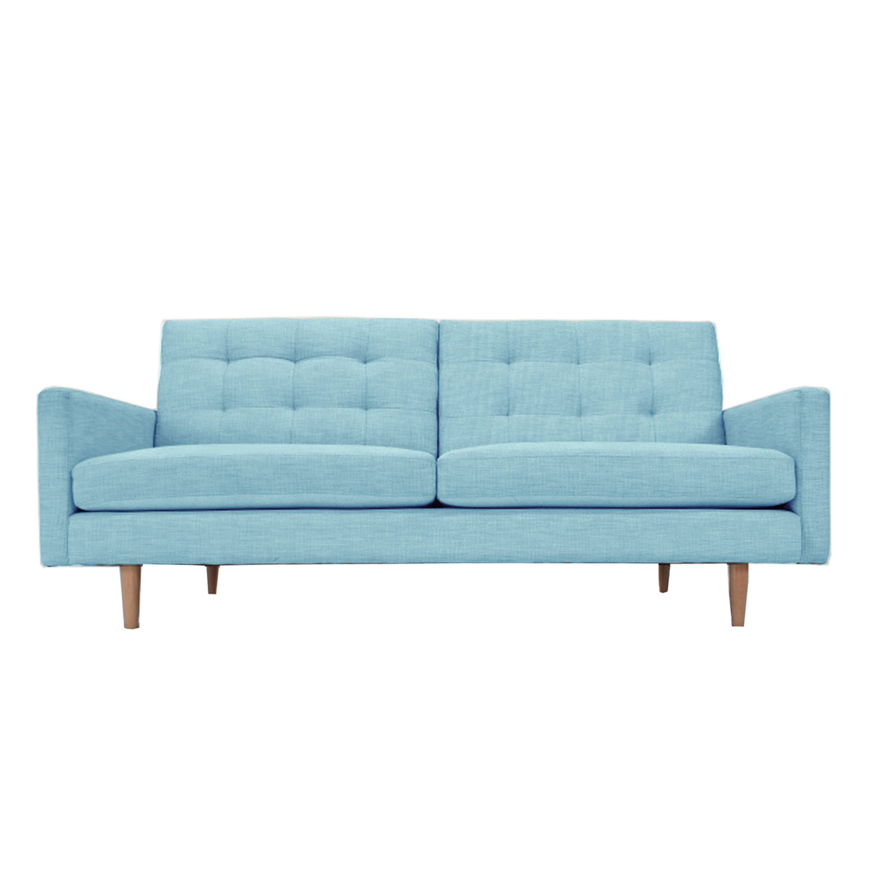 Lawrence Mid-Century Modern Eco-Friendly Sofa