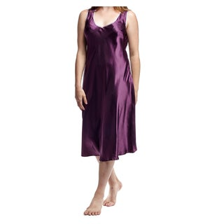 Link to La Cera Women's Plus Size Sleeveless V-neck Nightgown Similar Items in Intimates