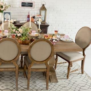 Oak Dining Room Sets For Less   Overstock.com