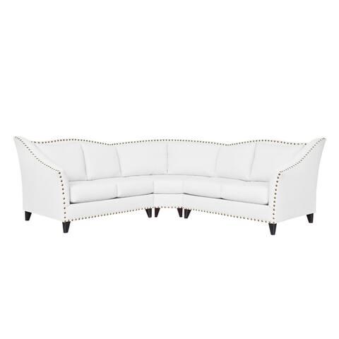 Carolina Traditional Curved Sectional Sofa