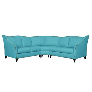 Carolina Traditional Curved Sectional Sofa