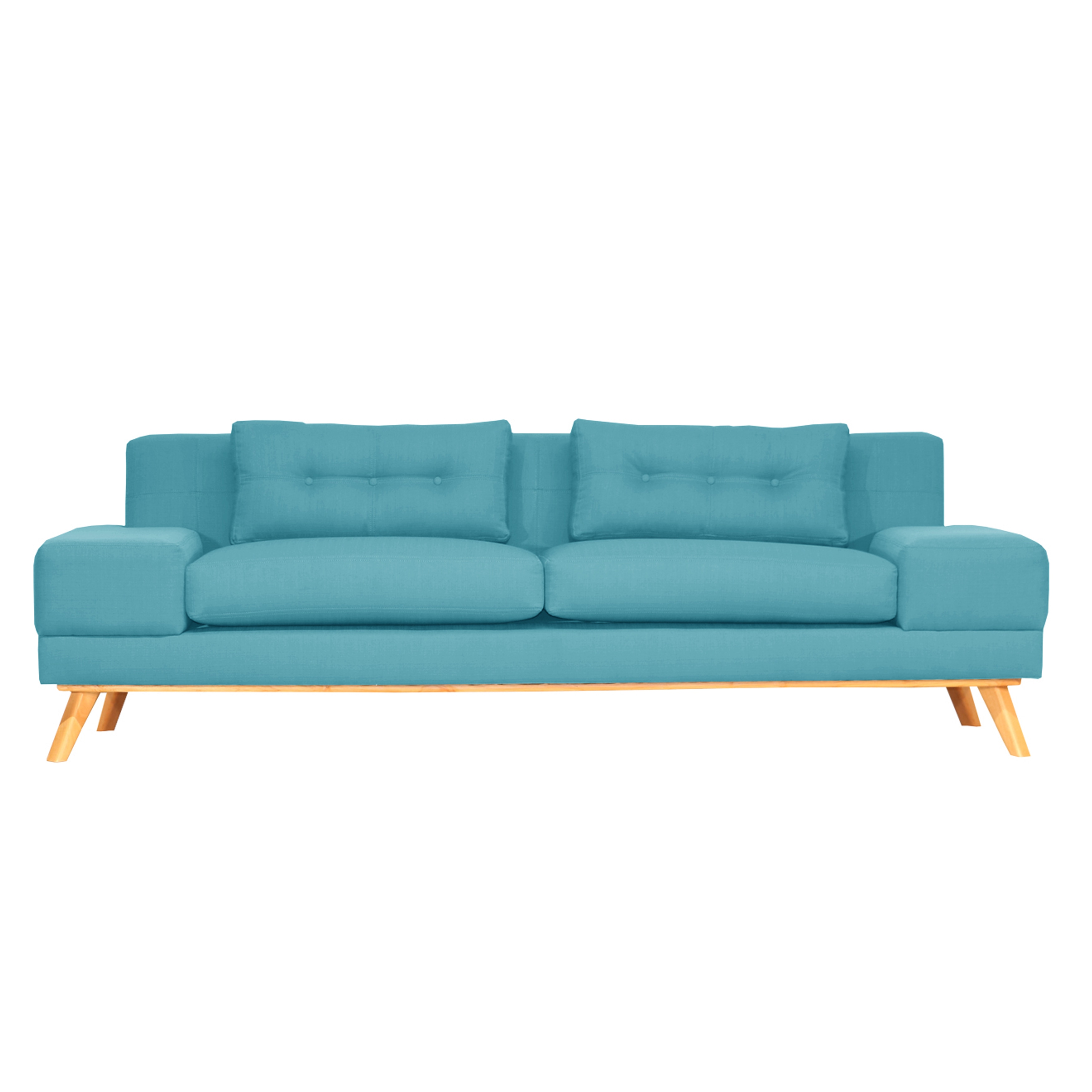 Picture of: Shop Delta Mid Century Modern Sofa Overstock 14587784