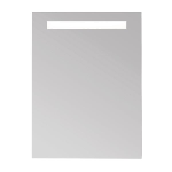 Shop Ronbow 24 x 32-inch Contemporary LED Bathroom Mirror with Metal ...