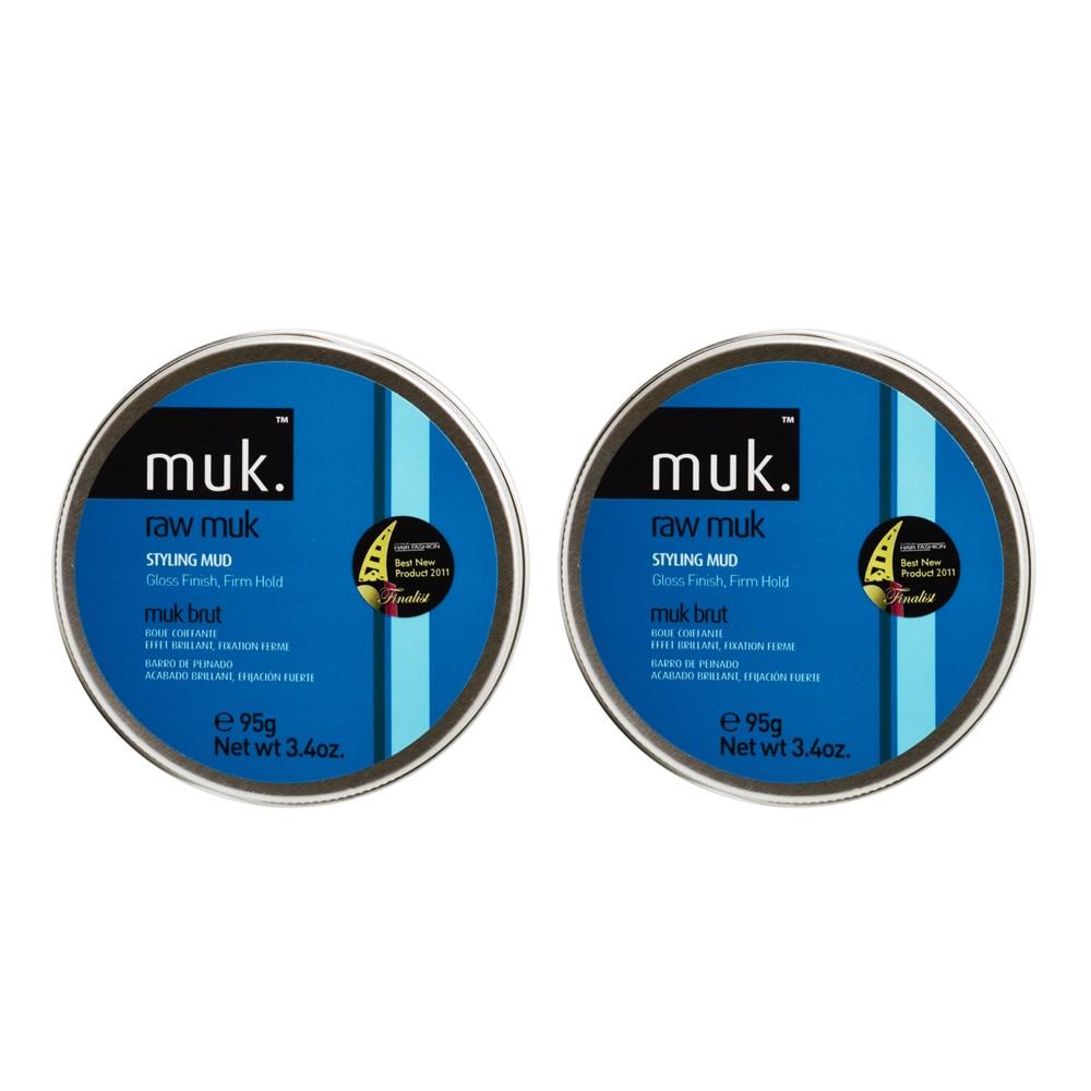 Muk Haircare 3.4-ounce Raw Gloss Finish Styling Mud (Brow...