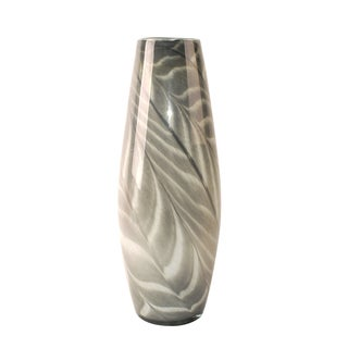 Axomis Multicolor Glass 19.7-inch Decorative Vase
