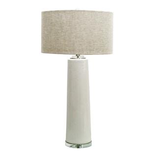 Jeco White Ceramic 35.75-inch Table Lamp