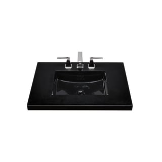 Ronbow Essence 20-inch Ceramic Undermount Bathroom Vessel Sink with Overflow