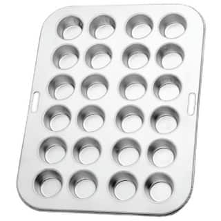 Norpro 3767 Heavy-duty Tin 13.75-inch/35-centimeter Long Mini Muffin Cupcake Pan (Makes 24)|https://ak1.ostkcdn.com/images/products/14587895/P21133824.jpg?impolicy=medium