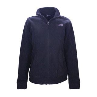 The North Face Women's Chiara Black Fleece Full Zip-Up Jacket