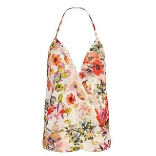 Chelsea Flowers Floral Halter Tank|https://ak1.ostkcdn.com/images/products/14588015/P21133931.jpg?impolicy=medium