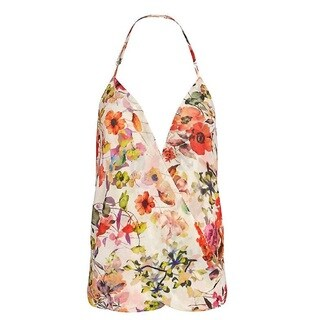 Chelsea Flowers Floral Halter Tank (4 options available)