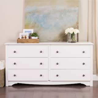 monterey 6 drawer dresser - White Bedroom Dresser