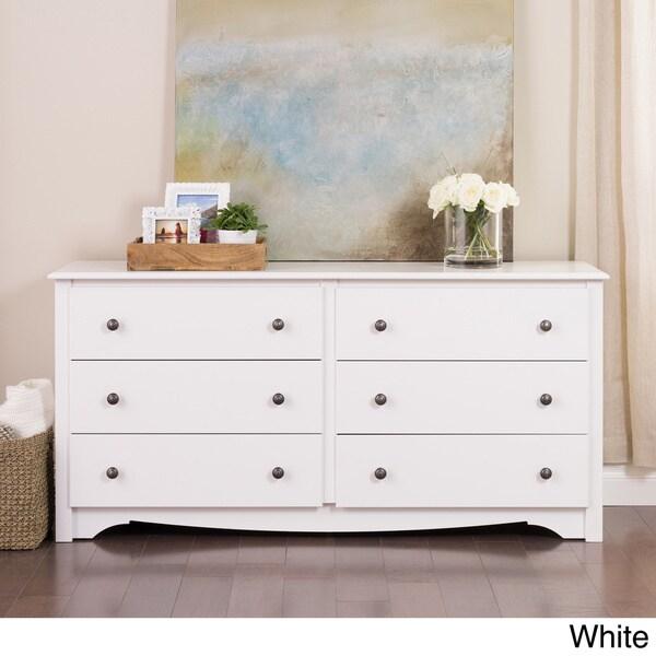 Monterey 6-drawer Dresser