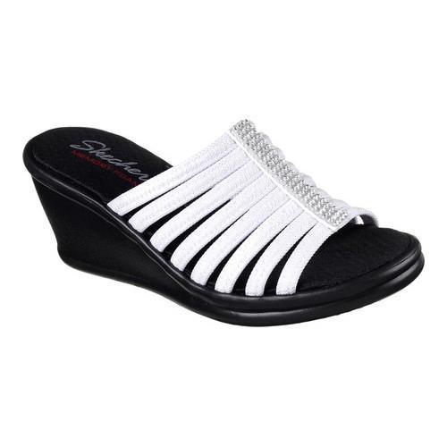 Women's Skechers Rumblers Hotshot Wedge Slide White - Free Shipping On  Orders Over $45 - Overstock.com - 21135482