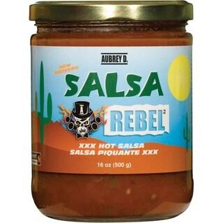 Aubrey D. Salsa Rebel Hot Salsa