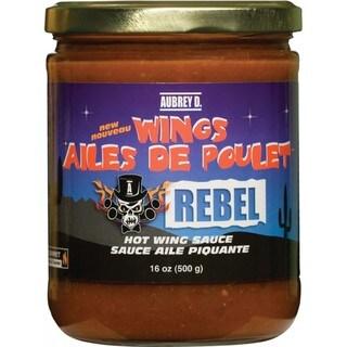 Aubrey D. Rebel Spicy Chicken Wing Sauce